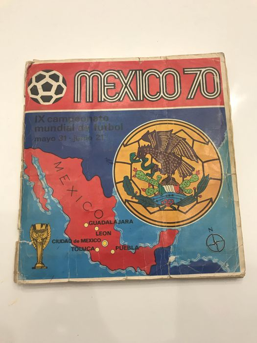 Panini - Mexico 70 - Album with 23 missing images