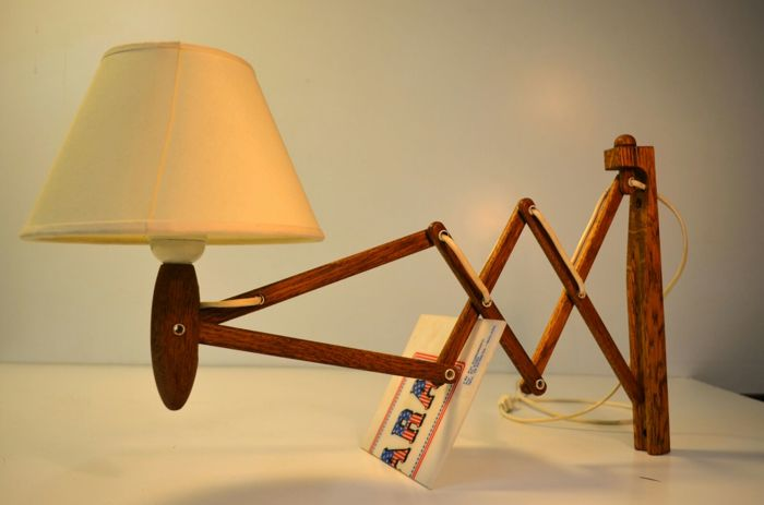 Erik Hansen for Le Klint. Scissor lamp, model 335