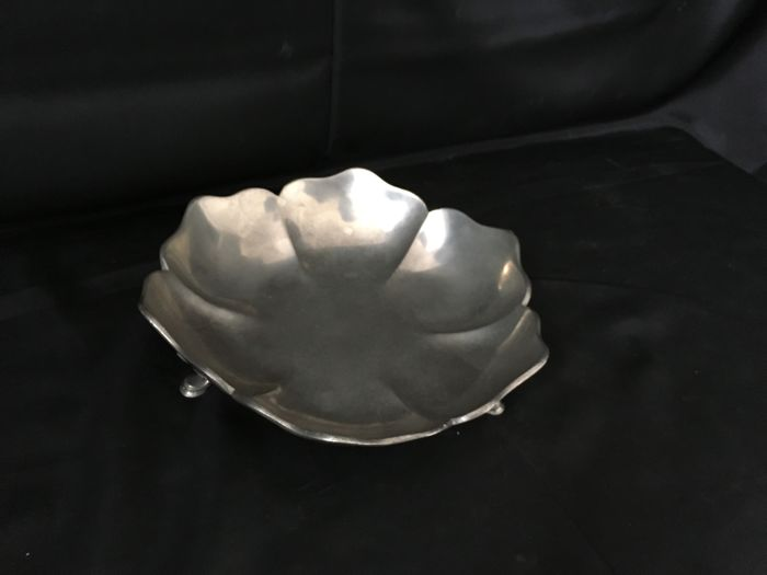 Vintage Silver Plated Tazza