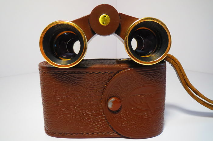 Theater binoculars of the USSR. Issue is not more than 2000pcs. LZOS (Lytkarino) 1943