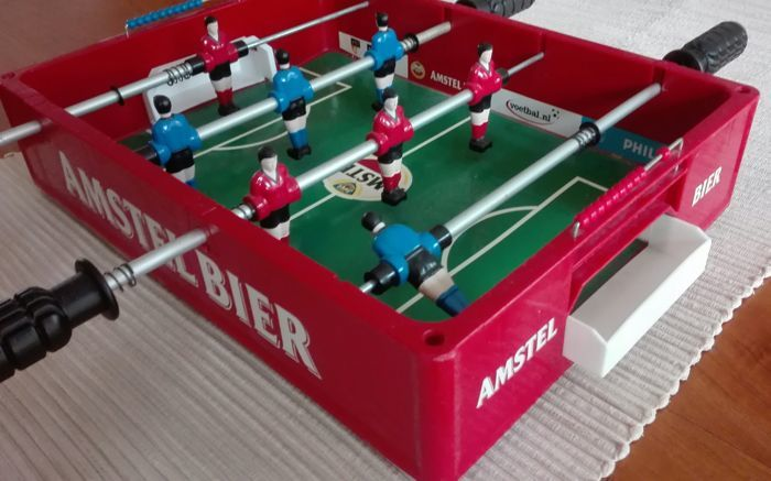 Vintage Amstel Beer Table Football Table Collector's Item!