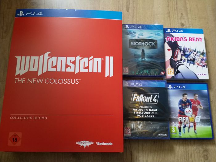 Lot of PlayStation 4 games - incl Bioshock Collection, Akiba's Beat and Fallout 4 limited editions