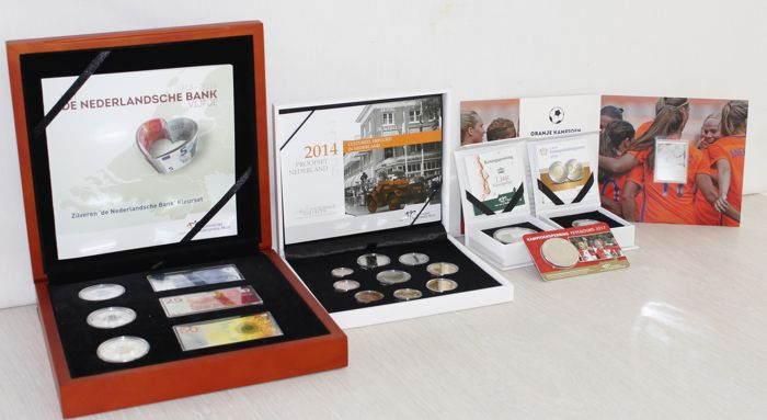 Netherlands - Euro 2014 - 2017 - Silver