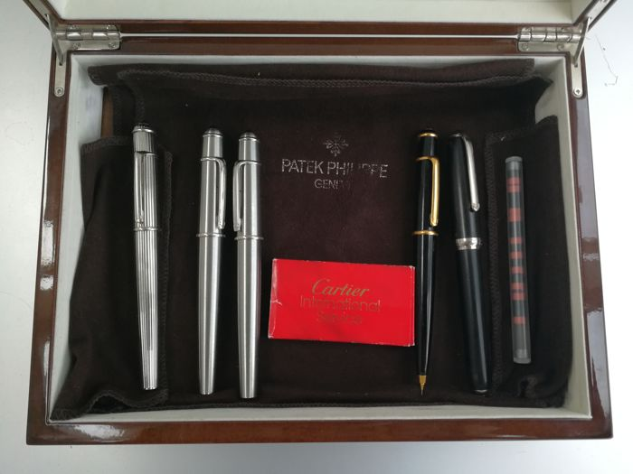 Cartier collection of pens