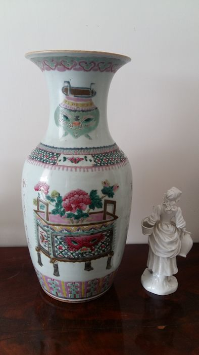 Large porcelain vase - China - circa  1920