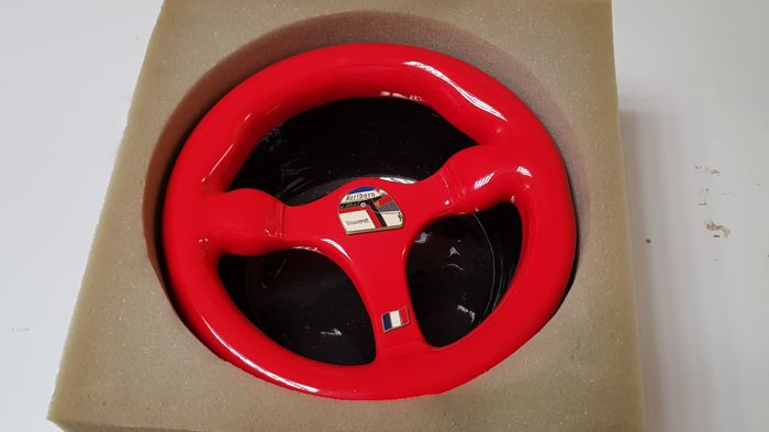 Jean Alesi steering wheel