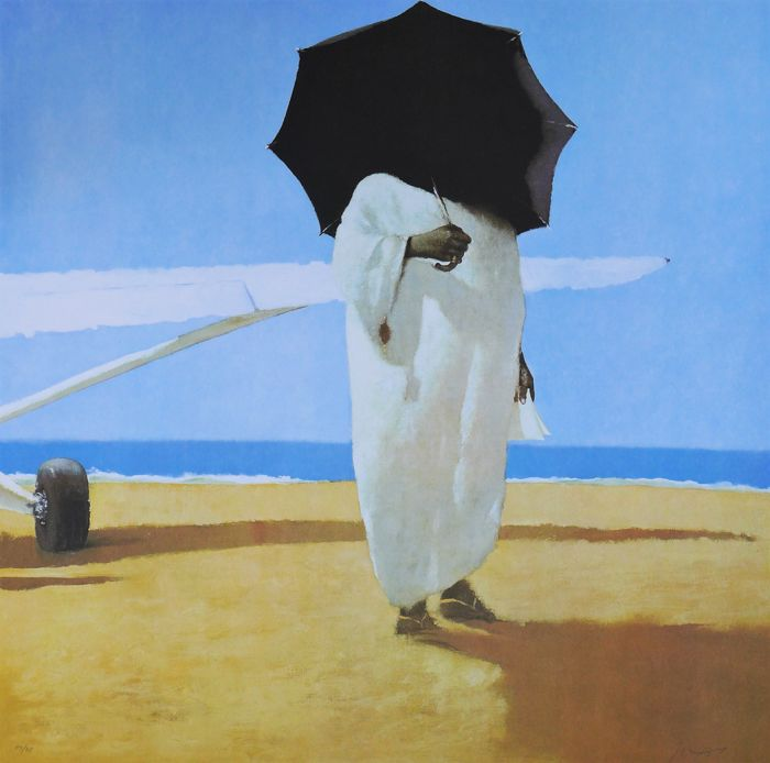 Julio Larraz - The Poet King