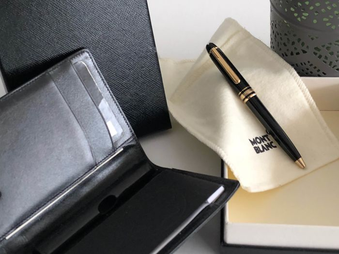 Writing pad with Mozart ballpoint pen MONTBLANC