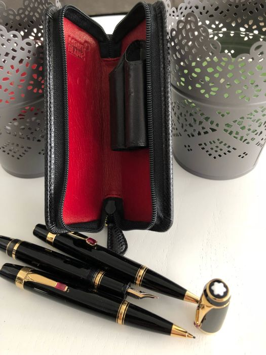MONTBLANC Boheme Red with case
