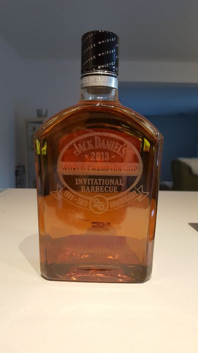 Jack Daniel's Gentlemen Jack - 2013 World Championship Invitational Barbecue - bottle 370 of 468 - 1000ml