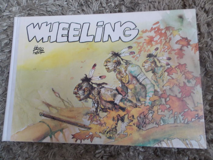 Hugo Pratt - Wheeling - First printing hc (1972)