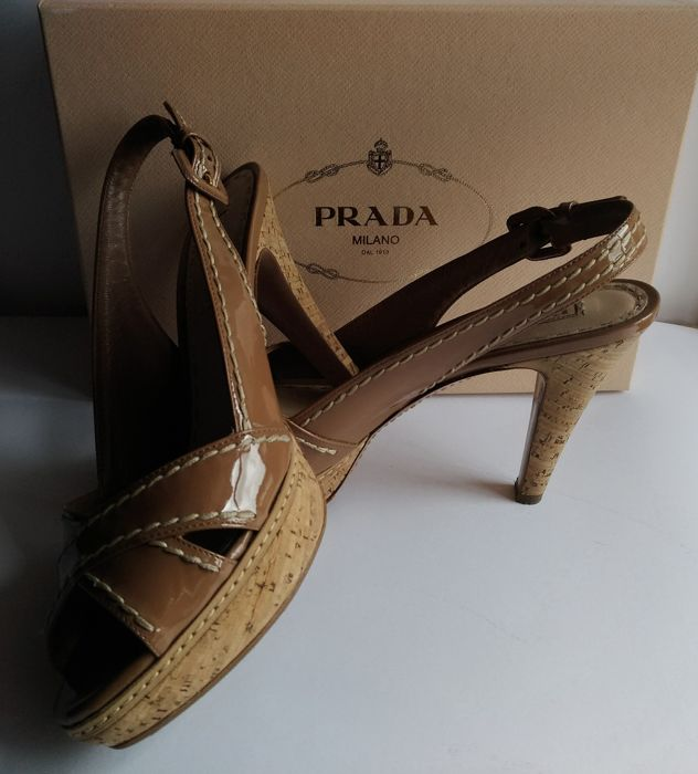 Prada - Decolleté mis. 40 it heel 12 * no reserve *