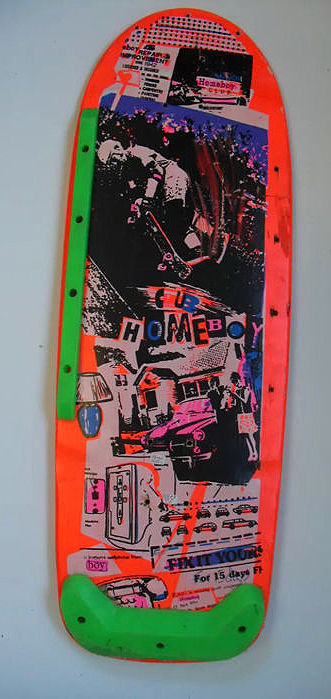 Skateboard Deck 80s (Old Stock) - Rythm