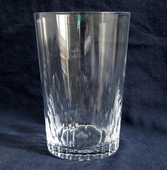 6 Baccarat Crystal Whisky Or Water Glasses Richelieu Model France