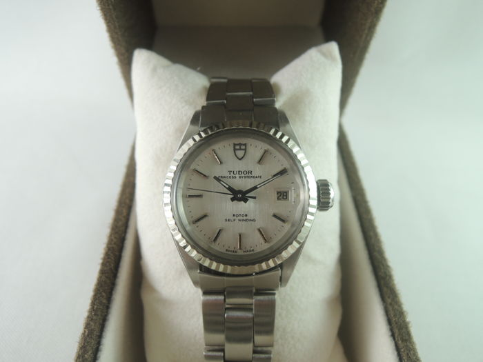 Tudor - 92414 Princess Oyster Date Rotor - Dames - 1990-1999