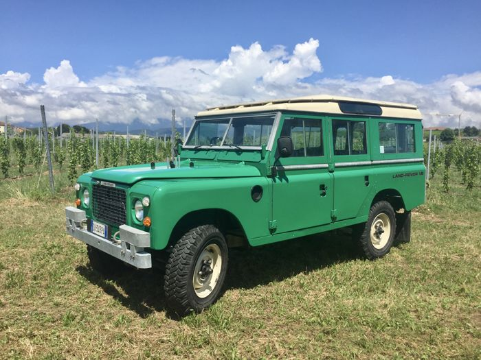 "Land Rover - ""Stage One"" Serie 3 3500 cc V8  - 1981"