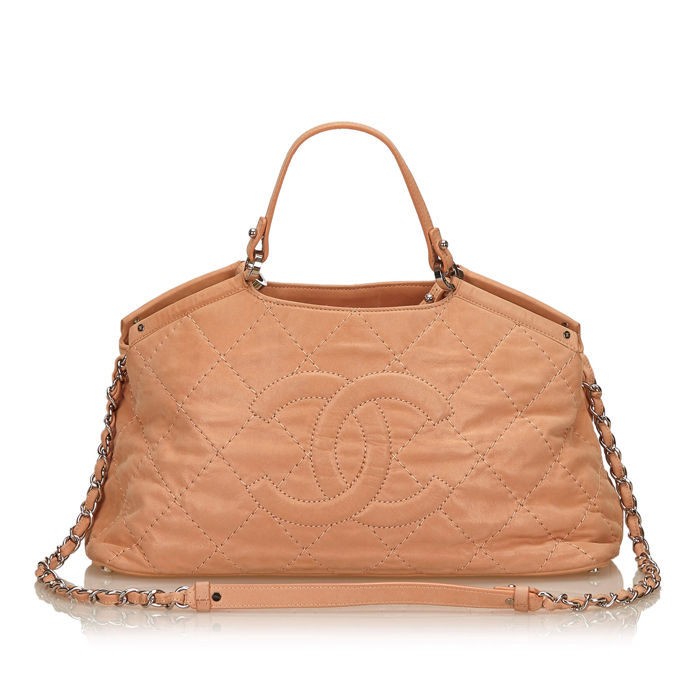 Chanel - 2 Way Leather Handbag