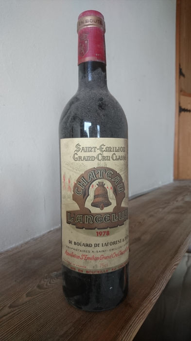 1978 Château l'Angelus, Saint-Emilion Grand Cru Classe - 1 bottle