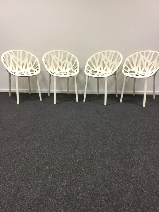 Ronan & Erwan Bouroullec by Vitra - Vegetal chairs, set of 4 pieces