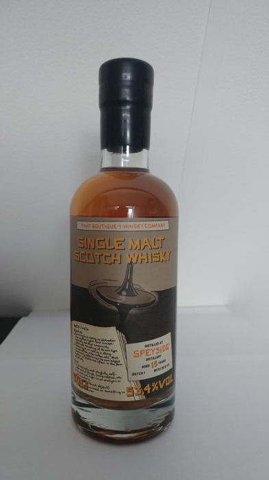 Speyside 15 years - That Boutique-Y Whisky Company - Batch 1