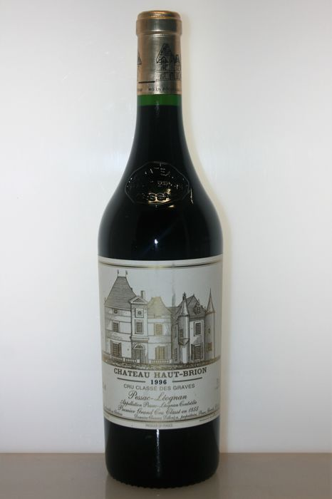 1996 Chateau Haut-Brion, 1er Grand Cru Classé Pessac-Leognan - 1 bottle (0,75)