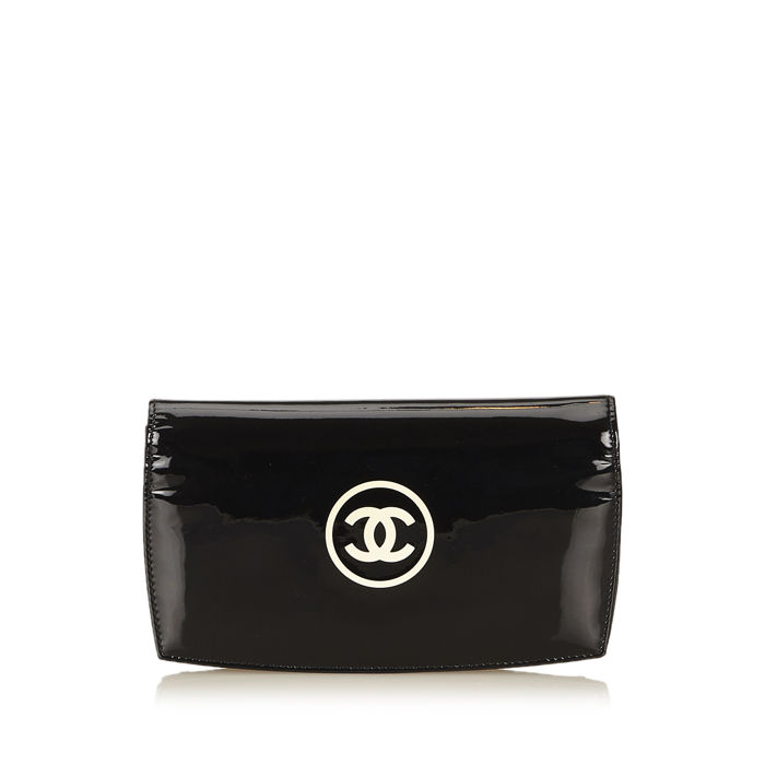 Chanel - Patent Leather Wallet