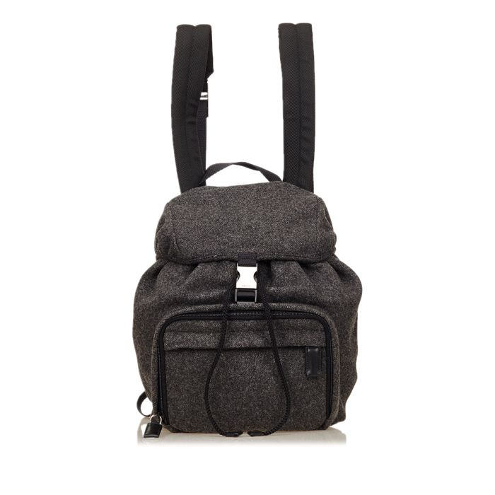 Prada - Wool Backpack