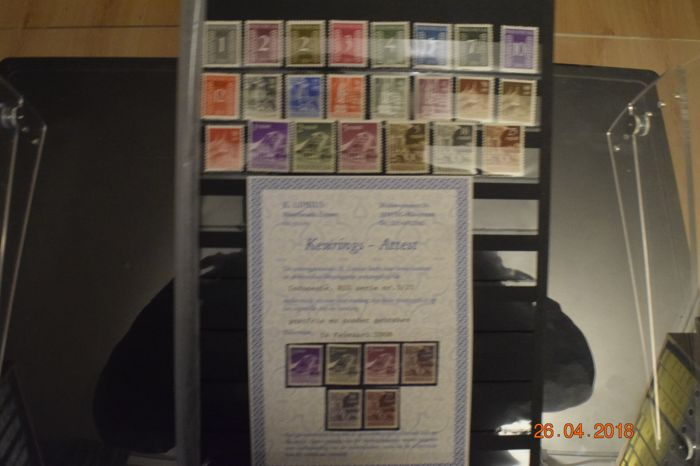 Indonesia - Collection up to 2001, including RIS with certificate, Football series and Monkey blocks