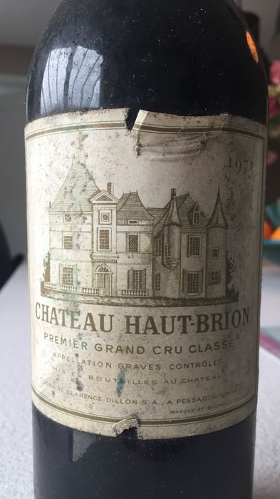 1971 Chateau Haut-Brion, Pessac-Leognan 1er Grand Cru Classé - 1 bottle