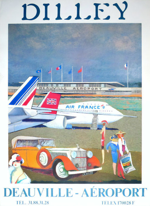 Dilley - Deauville Aeroport - 1989