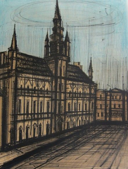 Bernard Buffet - Brussele Town Hall