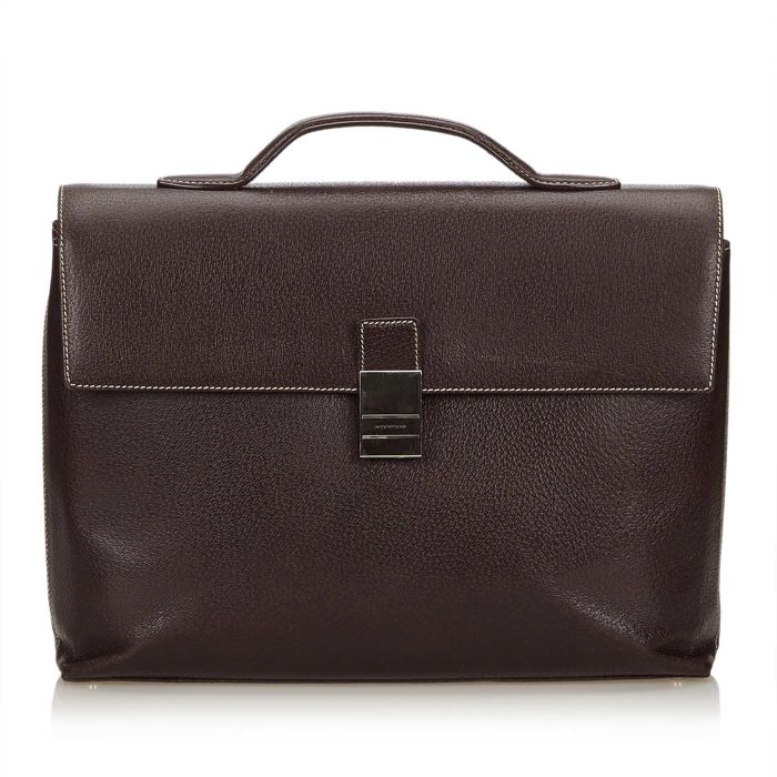 Burberry - Leather Briefcase