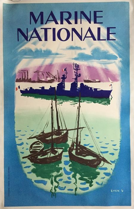 Even - Marine Nationale - Circa 1950