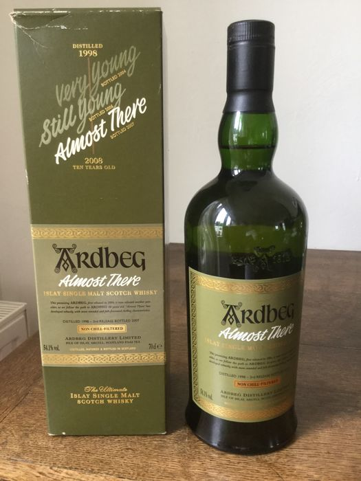 Ardbeg Almost There - distilled 1998 3rd release