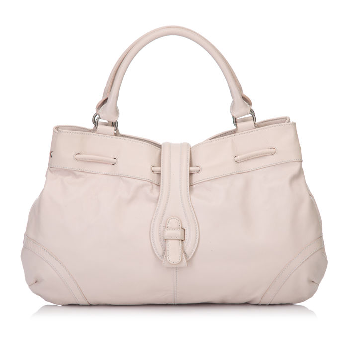 Balenciaga - Drawstring Leather Handbag