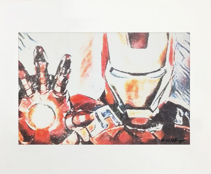 "Emma Wildfang - Original Artwork "" IRON MAN "" - (2018)"