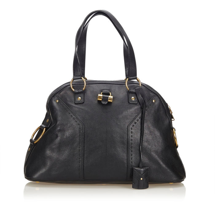 YSL - Leather Muse Tote