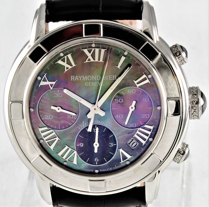 "Raymond Weil - ""PARSIFAL"" - Swiss Automatic Chronograph ref. 7241 - Excellent - General Overhaul, Warranty 1 year - Men - 2011-present"