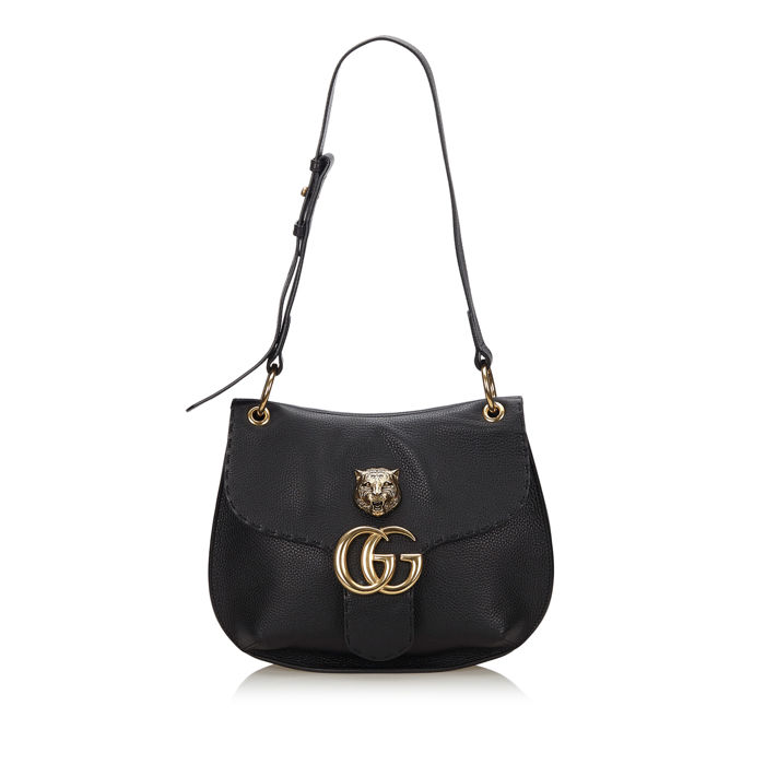 Gucci - GG Marmont Animalier Shoulder Bag
