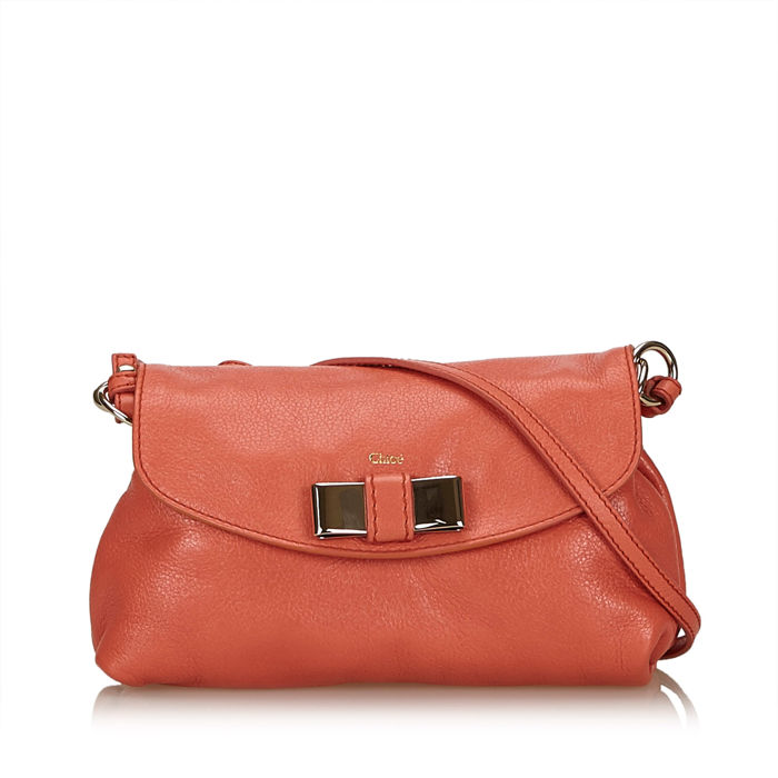 Chloe - Leather Lily Shoulder Bag