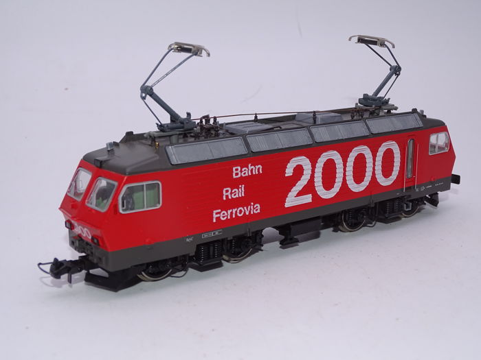 Roco H0 - 43512 - Electric locomotive - Re 4/4 IV locomotive Bahn Rail Ferrovia 2000 - SBB-CFF