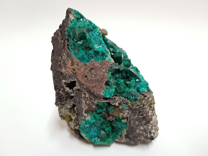 Best quality Dioptase Specimen from Congo - Big dimensions and big crystals - 11 x 8 x 6 cm - 452 gm