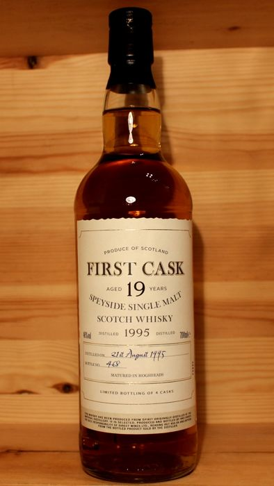 Imperial 1995 aged 19 years, 700ml, 46% vol. First Cask Bottling