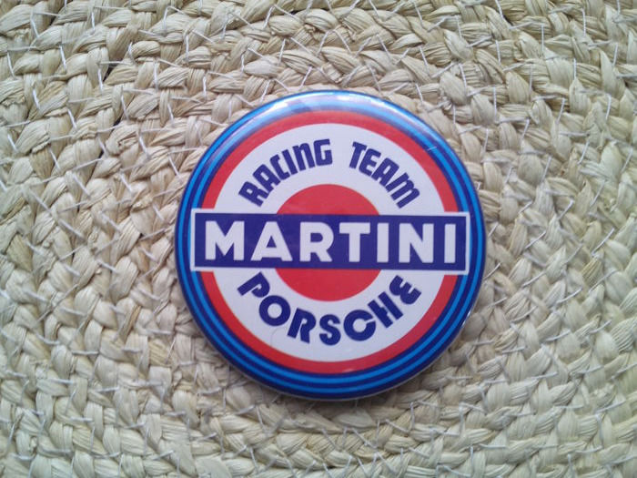 Badge Martini Porsche Racing Team