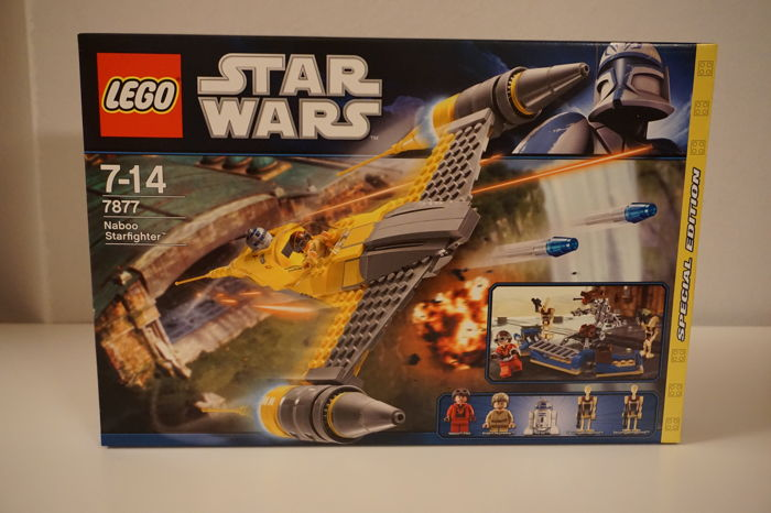 Star Wars - 7877 - Naboo Starfighter SPECIAL EDITION