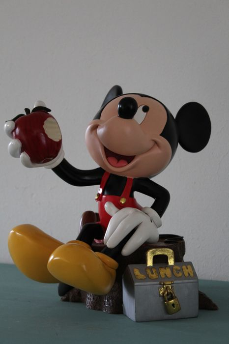 Disney, Walt - Figure - Mickey Mouse Lunchtime (1990s)