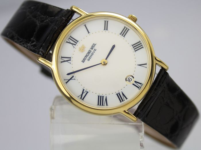Raymond Weil - 18kt Gold Plated Original Box & Papers  - 9124-2 - Men - 2000-2010