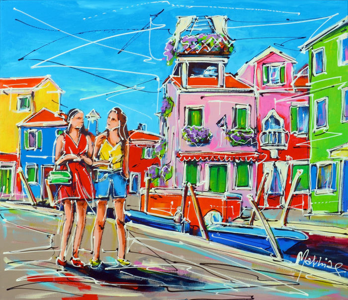 Mathias - Holidays in Italy, coloured houses of Burano
