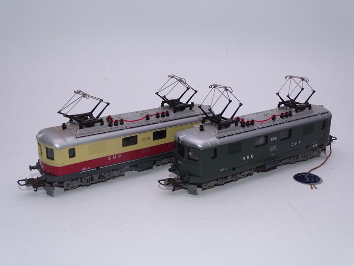 Lima H0 - Electric locomotive - 2x Re 4/4 I class locomotives - SBB-CFF