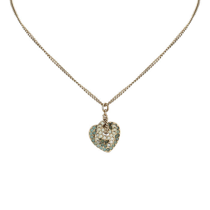 Chanel - CC Heart Necklace